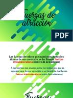 FUERZAS DE ATRACCIÓN