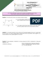 Lista Obrigatoria - Referente à Prova P3 do dia 16 Abril