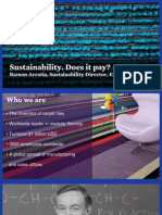 Sustainability - Does It Pay?
