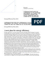 Energy Efficiency Plan 2011