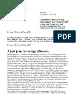 Energy Efficiency Plan 2011