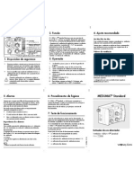 Manual Ventilador Weinmann Medumat Standard