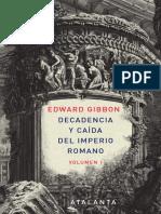 la decadencia del imperio romano