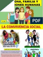 la convivencia social
