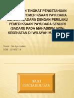 PPT Proposal Sri Ayu Ashari