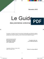 Guide Des Premieres Ordonnances2011