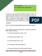 Actividad 1, Manual Operativo de Centro (1)