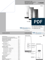 TELEVCOMMANDE User Manual 10300 (Single Channel)