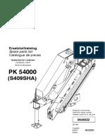 Manual(1) BRAZO ARTICULADO palfinger 54000