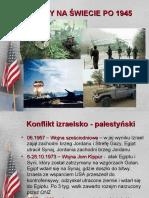 Konflikty12 na świecie po 1945