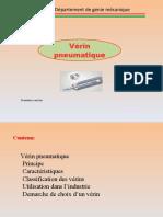vérin pneumatique