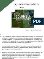 Colombia y su biodiversidad en aves
