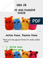 [6] Active and Passive Voice