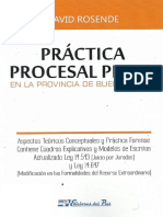 Practica Procesal Penal de La Prov. de Bs as. David Rosende (1)