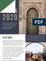 Ramadã 2020 - Calendário de Oração Pelos H