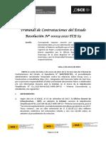 Resolución N° 0013-2021-TCE-S3
