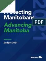 Manitoba Budget 2021