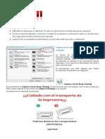 PASOS PARA LIMPIEZA DE CABEZAL  E4210 CLIENTE
