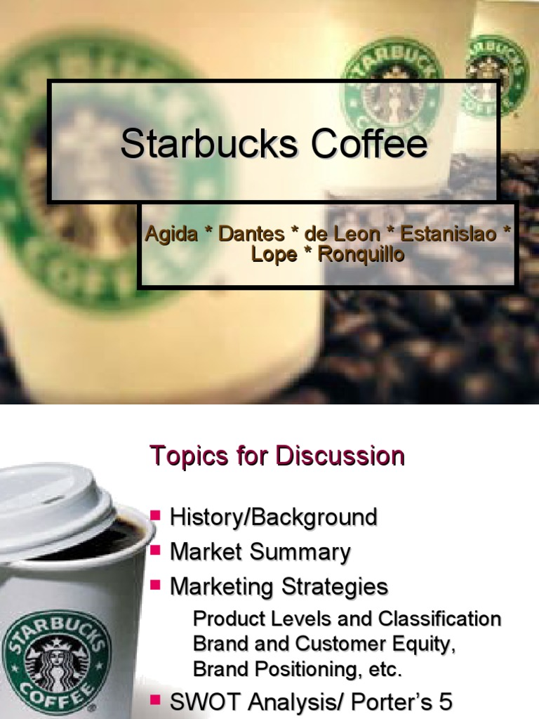 starbucks coffee a case study essay Read this essay on starbucks coffee a case study come browse our large digital warehouse of free sample essays get the knowledge you need in order to pass your classes and more.