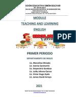 Mod Ingles 8° Primer Periodo