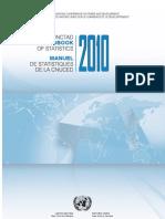 UN statistical handbook 2010