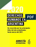 El informe anual de Amnistía Internacional