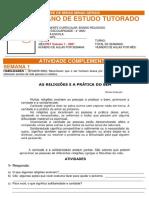 PET ENSINO RELIGIOSO - 1BIM/2021