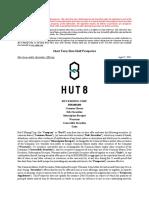 Hut 8 Prospectus