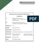 Informe final de comisión investigadora del Congreso por el caso Vacunagate