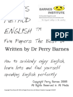 Barnes Method English @ Fun Papers Best of The Most Expensive English Classes in the World