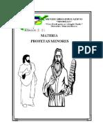 Materia Profetas Menores