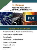 Aços - Processos Metalúrgicos Fabricação e Tratamentos Térmicos