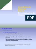 Princípios Básicos de Ensaios Mecânicos