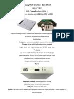 FLOOPY-D-E-datasheet