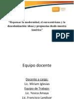 Clase presentación - Seminario Historia