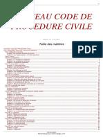 CodeProcedurecivile