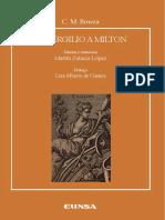 Bowra C M de Virgilio a Milton Edicion y