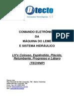 Manual Com. Eletr. e Hidráulica do Leme - LHs Technip