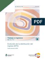 Distribución del ingreso 4°trim2020