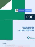 200826 Presentación Proyecto Metodología PESV