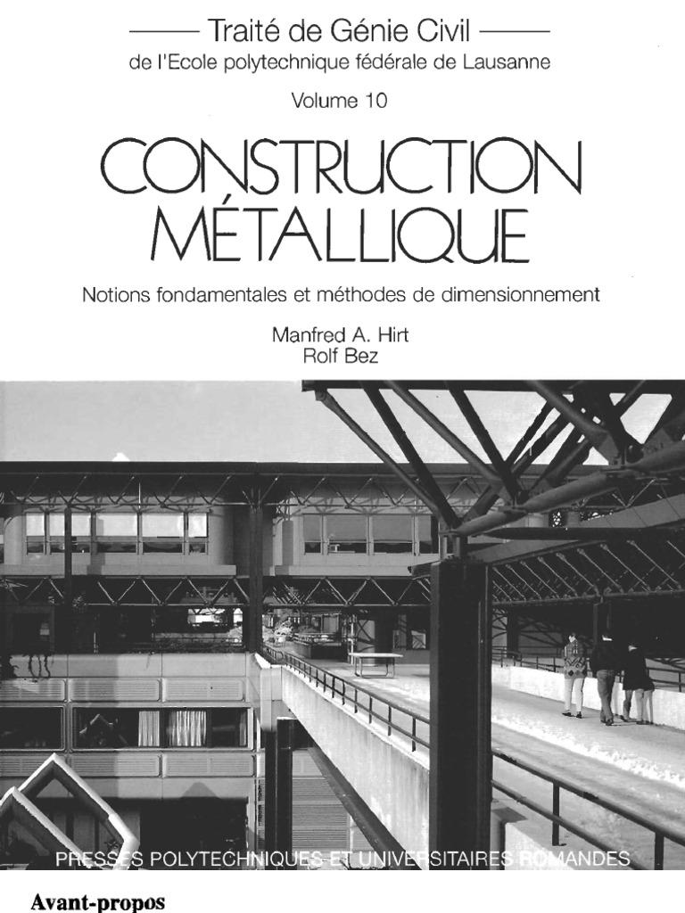 Construction metallique for Structure metallique architecture