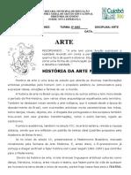 história da arte no br - patrimônio - indígena