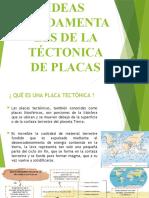 IDEAS FUNDAMENTALES DE LA TÉCTONICA DE PLACAS
