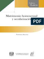 ARLETTAZ, F., Matrimonio Homosexual y Secularizacion, 2015