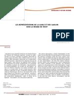 Représentations Gaule et gaulois sous régime vichy (Da Silva)
