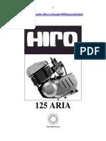 Hiro Manuale 125 Aria