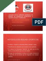 Porticos - Metodo matricial de rigideces