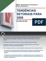 Bradesco__Tendências Setoriais para 2009