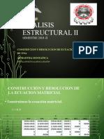 ANALISIS ESTRUCTURAL II Ecuacion Matricial