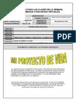 MI PROYECTO DE VIDA IX